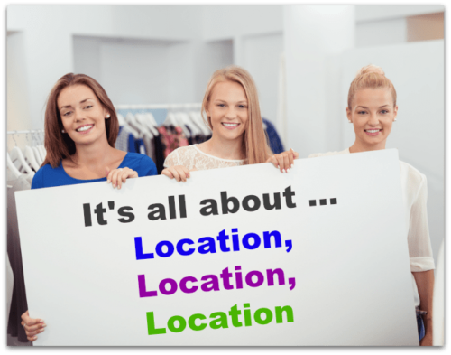 Choosing the wrong location is one of the common mistakes consignment shops make