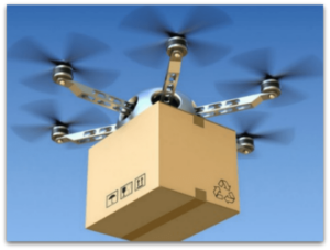Drones will be the next phase for pickup and delivery