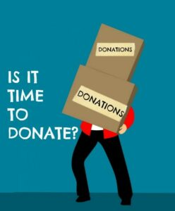 Is it time to donate consignment items and declutter?