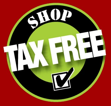 Tax free shopping weekends