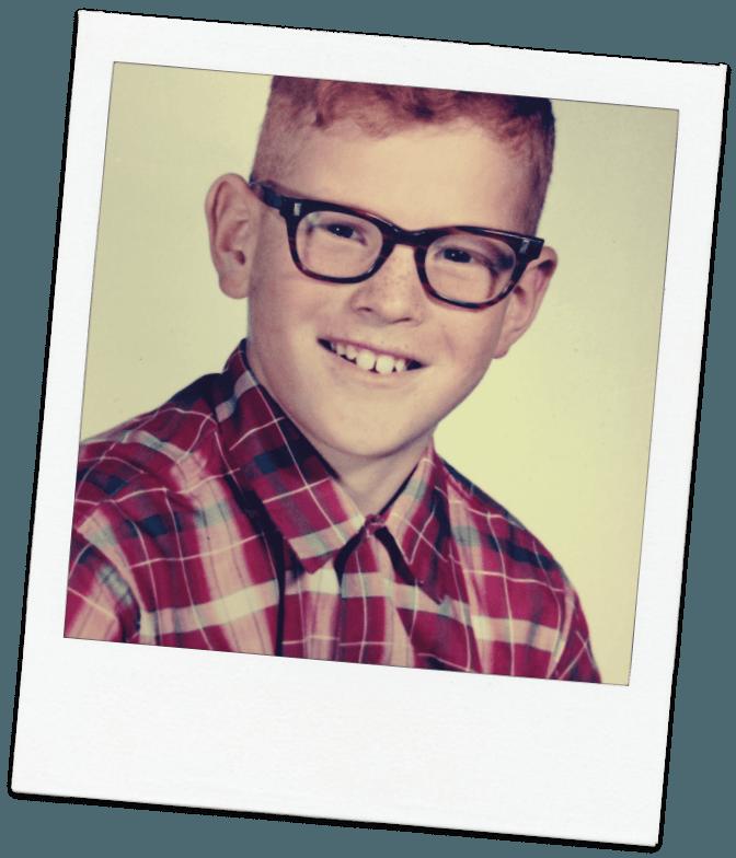 Joe's grade school photo