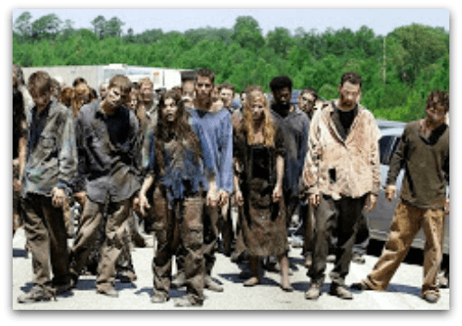 Zombies who missed the disaster recovery plan