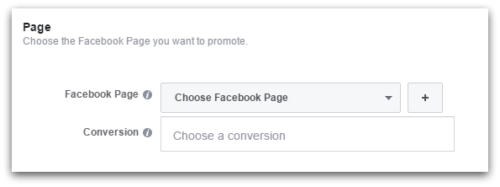 Facebook ads include conversion pixels