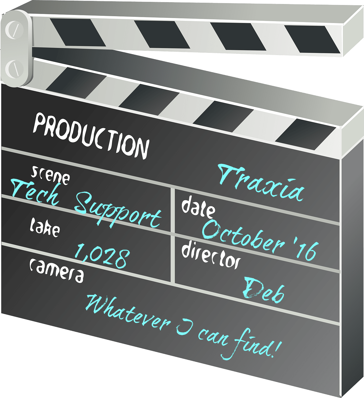 Video marketing doesn't need a clapper board