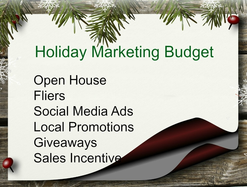 Plan out your holiday marketing budget