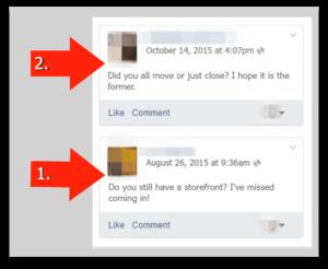 A true example of a facebook failure
