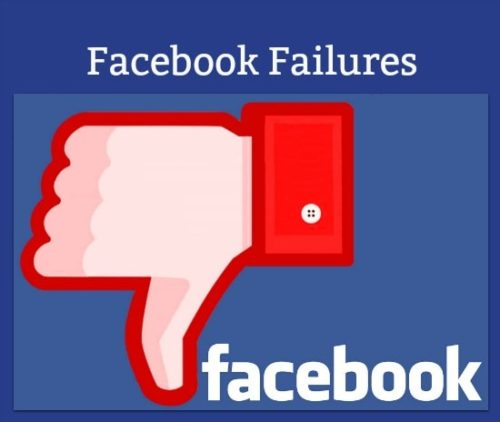 Facebook failures are bound to happen