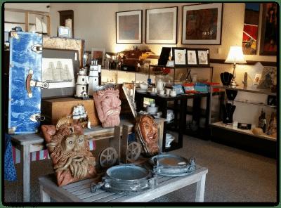 Interior of Kari's Treasure Trove
