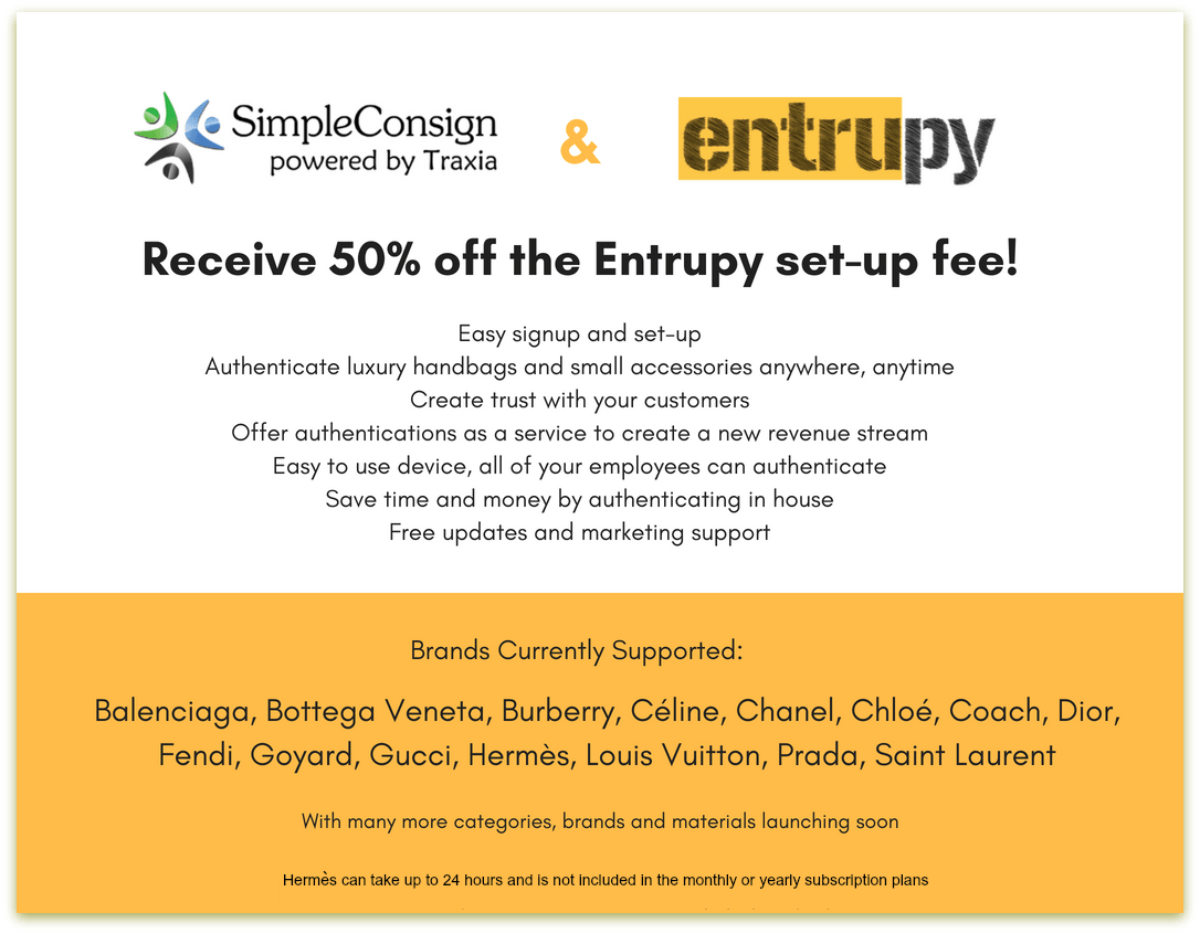 Entrupy gives you