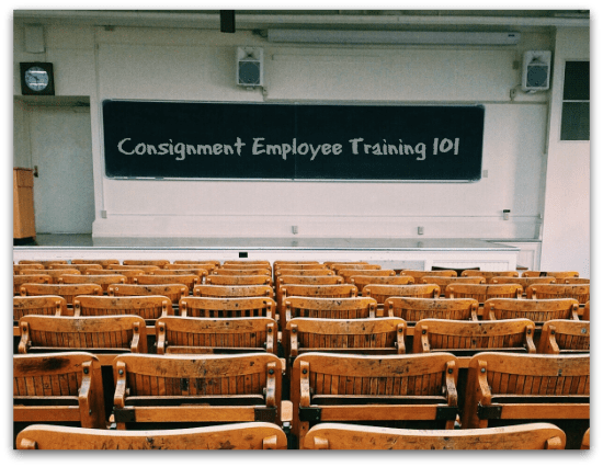 Consignment Employee Training happens here