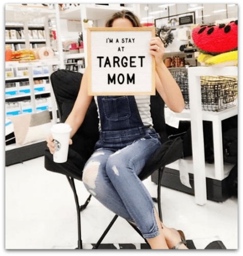 You can create the consignment store target effect