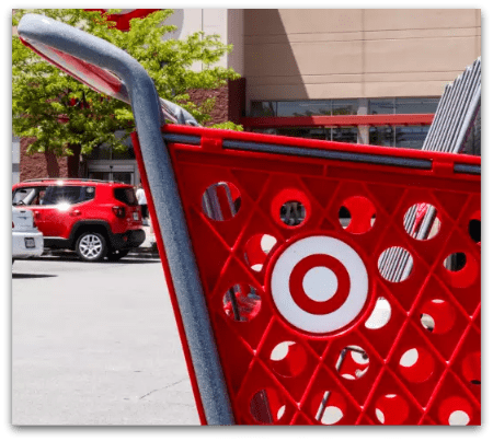 Shoppers fill their carts with the consignment store target effect