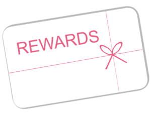 A special card for your Rewards Program