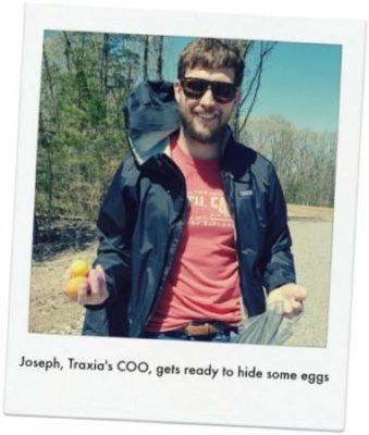 """Joseph is an """"eggcellent"""" hider"""