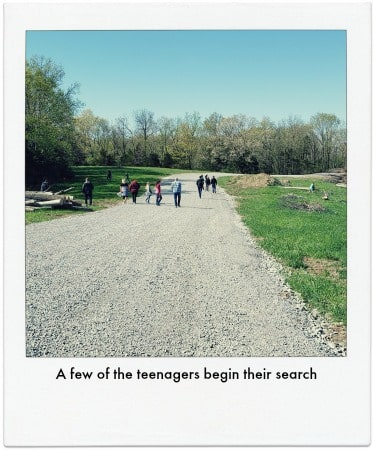 Teens at Coyote Hill begin their search