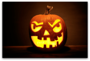 Make your consignment store Halloween ideas fun and bright