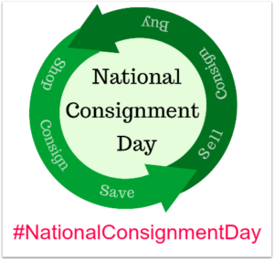 Use the hashtag #NationalConsignmentDay