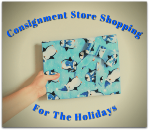 consignment store shopping for the holidays is really hot this year