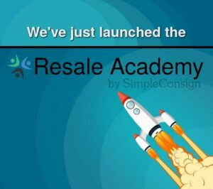 We just launched the Resale Academy