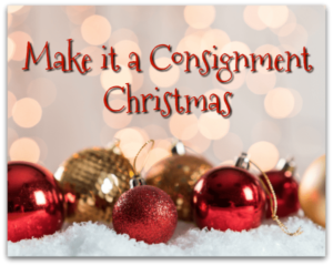 This holiday, make it a consignment Christmas