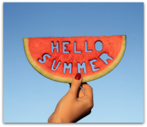 Boost consignment summer sales and cool down with a slice of watermelon
