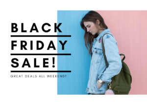 Special Discounts on Items for Black Friday