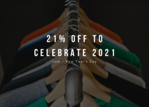Post-holiday 21% off