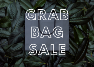 Post-holiday consignment grab bag sale