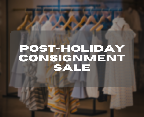 Post-Holiday Consignment Sale