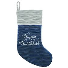decorate your shop with a Hanukkah stocking